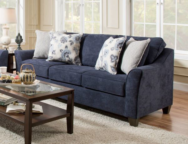 Picture of LANE 4330 Sofa Color: Prelude Navy