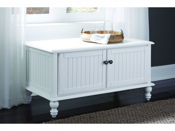 Picture of Bd07-201B Blanket Chest Color: White