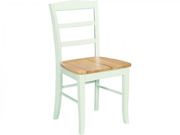 Picture of C02-2B Side Chair Color: Natural And White