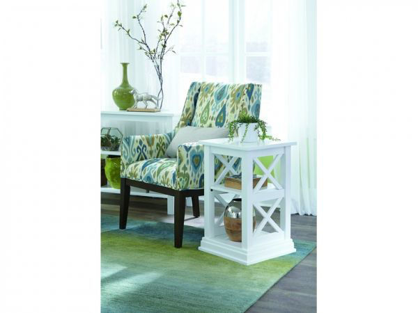 Picture of Ot08-70A End Table Color:White