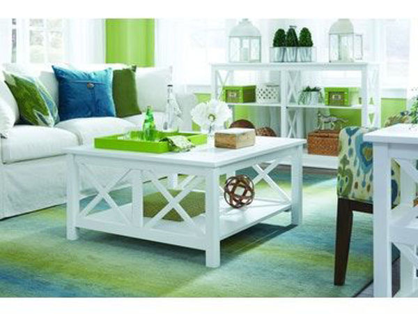 Picture of Ot08-70Sc Square Coffee Table Color: White