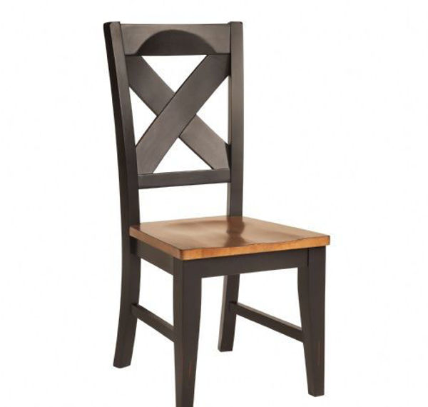 Picture of Qt001Pb Quinton X Back Side Chair