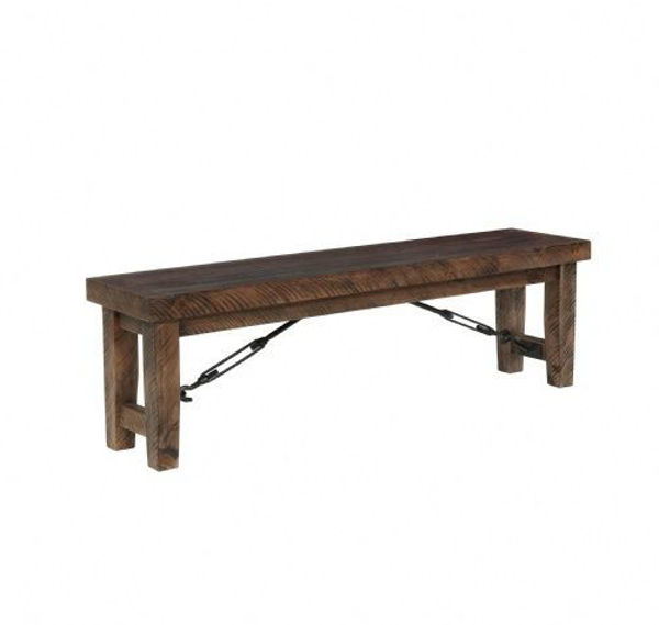 Picture of Rl001 Rustic Lodge Dining Bench