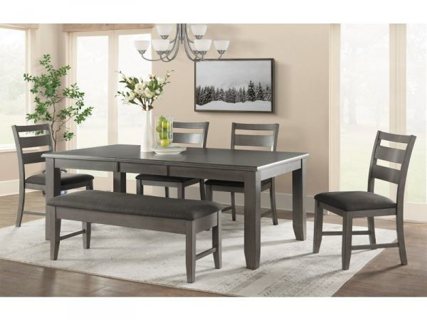 Picture of VH1900 TABLE: 4 CHAIRS 1-BENCH