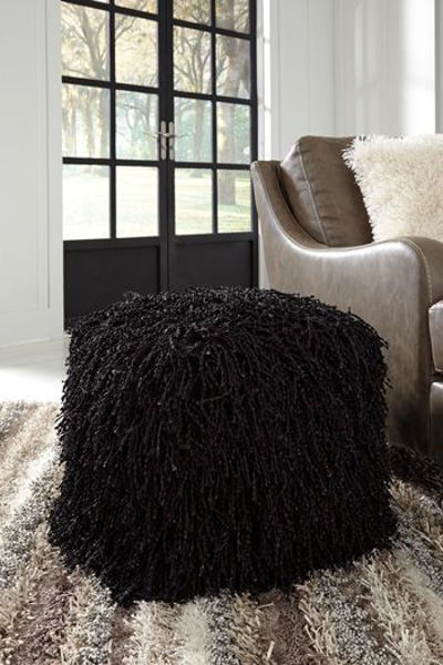 Picture of Pouf/Cairo/Black