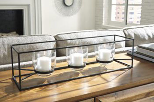 Picture of Candle Holder/Jadyn/Black