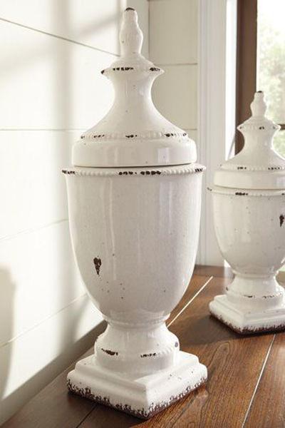 Picture of Jar/Devorit/Antique White