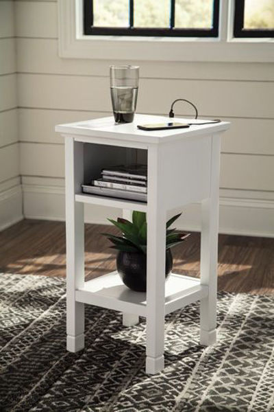 Picture of Accent Table/Marnville/White