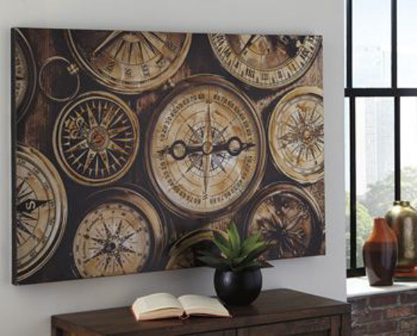 Picture of Wall Art/Jeaselle/Brown/Black