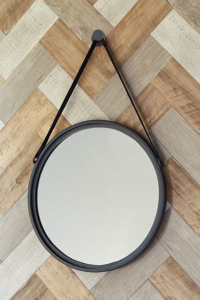 Picture of Accent Mirror/Dusan/Black