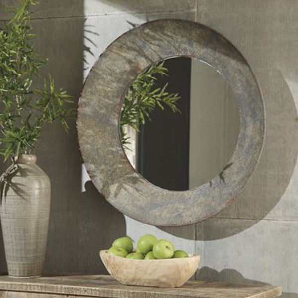 Picture of Accent Mirror/Carine/Gray