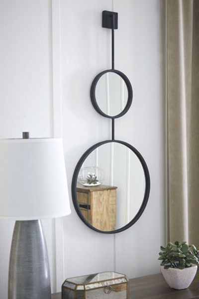 Picture of Accent Mirror/Brewer/Black