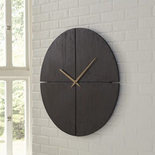 Picture of Wall Clock/Pabla/Black