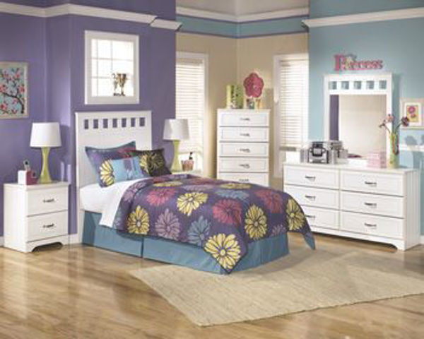 Picture of Two Drawer Night Stand/Lulu