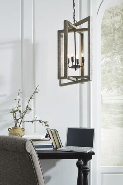 Picture of Wood Pendant Light (1/CN)