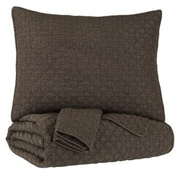 Picture of Twin Coverlet Set/Ryter/Brown