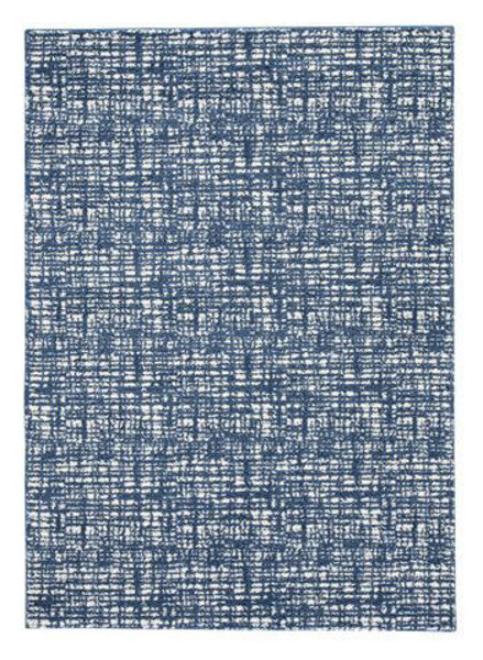 Picture of Large Rug/Norris/Blue/White