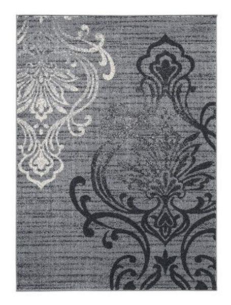 Picture of Large Rug/Verrill/Gray/Black