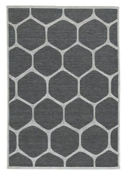 Picture of Large Rug/Javed/Charcoal