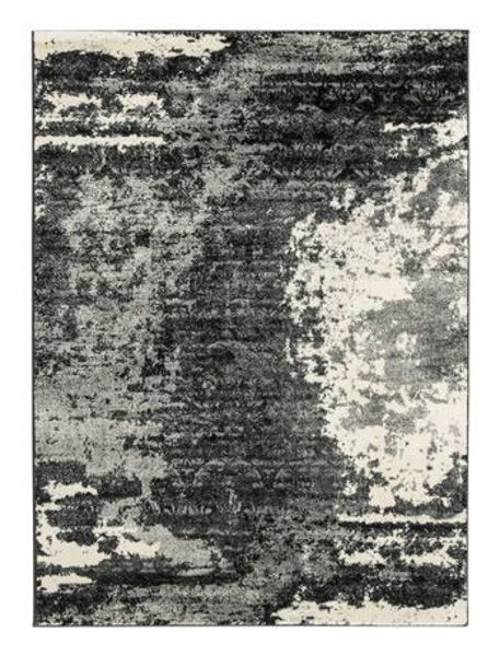 Picture of Medium Rug/Roskos/Black/Gray