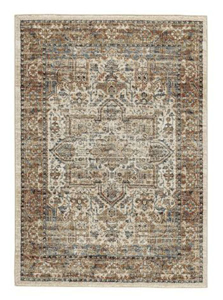Picture of Large Rug/Jirair/Tan/Blue/Rust