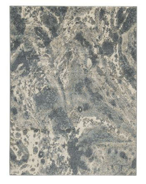 Picture of Large Rug/Jyoti/Blue/Gray/Tan