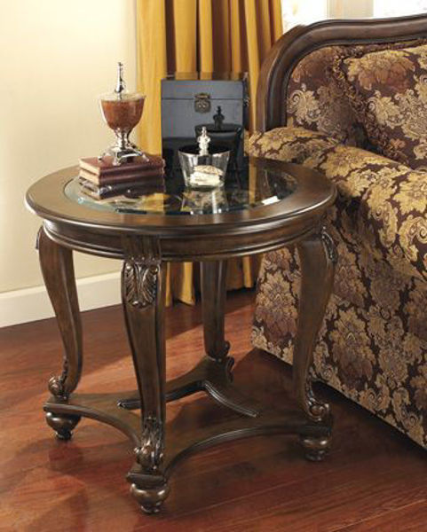Picture of ROUND END TABLE