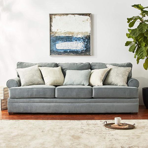 Picture of 8530 Sofa Color: Abbington 7 Seas