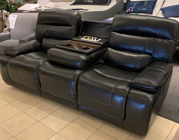 Picture of 10585 POWER SOFA: BLACK