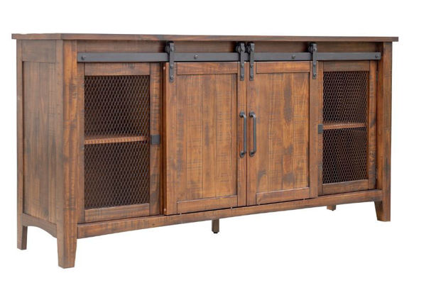 "Picture of STOCKTON 72"" MEDIA CONSOLE ALL SPICE"