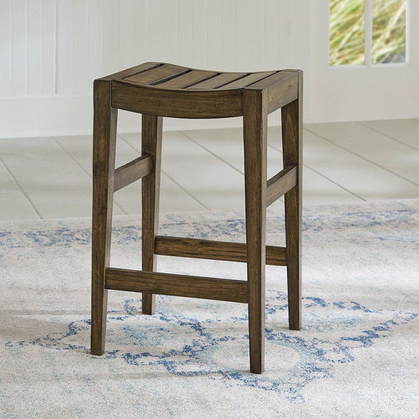 """Picture of 24"""" BACKLESS COUNTER STOOL"""