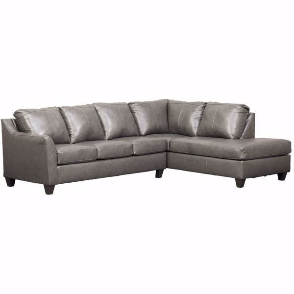 Picture of Genuine Leather Fog Sectional