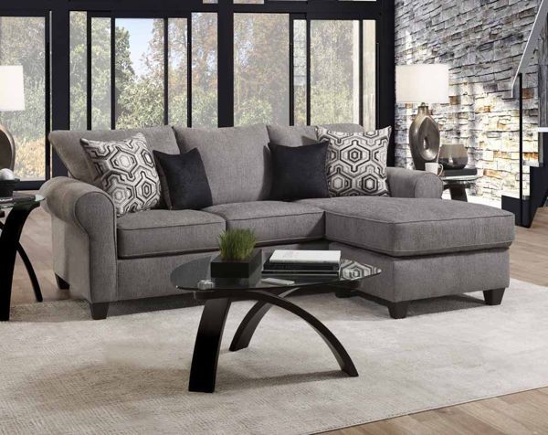 Picture of Vibrant Smoke Mini Sectional