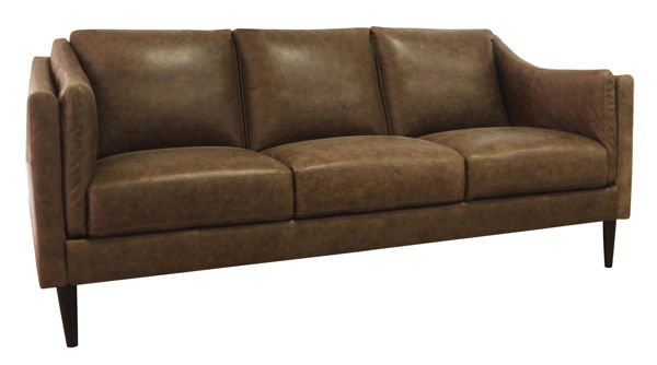 Picture of Bomber Tan Genuine Leather Sofa