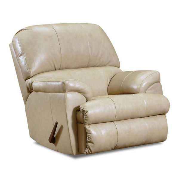 Picture of Soft Touch Putty Recliner